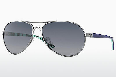 Zonnebril Oakley FEEDBACK (OO4079 407907) - Wit, Chrome