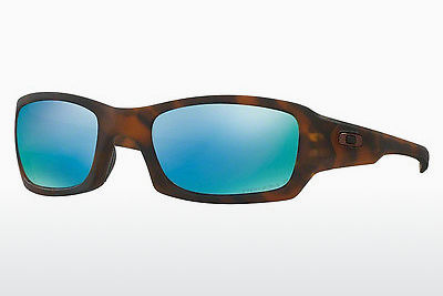 Zonnebril Oakley FIVES SQUARED (OO9238 923817) - Bruin, Schildpad