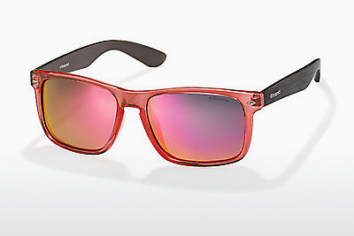 Lunettes de soleil Polaroid PLD 6008/S QID/OZ - Orange, Brunes, Havanna