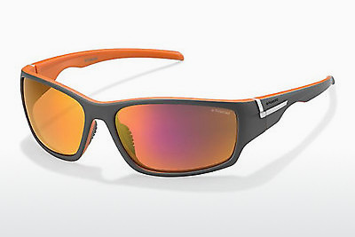 Lunettes de soleil Polaroid Sports P7407 OGH/AI - Grises, Orange