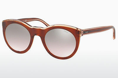 Lunettes de soleil Polo PH4124 56398Z - Orange, Brunes, Havanna, Rose