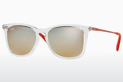 Zonnebril Ray-Ban Junior RJ9063S 7031B8 - Wit, Doorzichtig