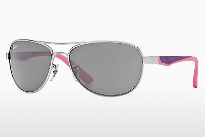 Zonnebril Ray-Ban Junior RJ9534S 212/87 - Zilver