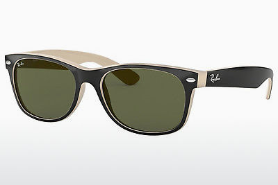 Zonnebril Ray-Ban NEW WAYFARER (RB2132 875) - Zwart, Wit