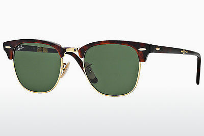 Zonnebril Ray-Ban CLUBMASTER FOLDING (RB2176 990) - Bruin, Havanna