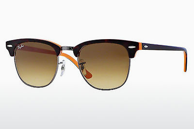 Zonnebril Ray-Ban CLUBMASTER (RB3016 112685) - Bruin, Havanna