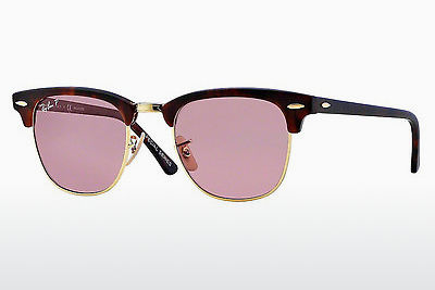 Zonnebril Ray-Ban CLUBMASTER (RB3016 114515) - Zwart