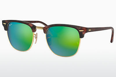 Zonnebril Ray-Ban CLUBMASTER (RB3016 114519) - Bruin, Havanna