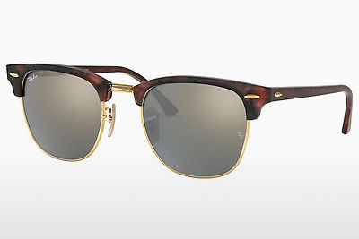 Zonnebril Ray-Ban CLUBMASTER (RB3016 114530) - Bruin, Havanna