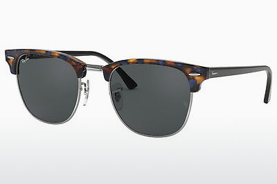 Zonnebril Ray-Ban CLUBMASTER (RB3016 1158R5) - Bruin, Havanna, Blauw