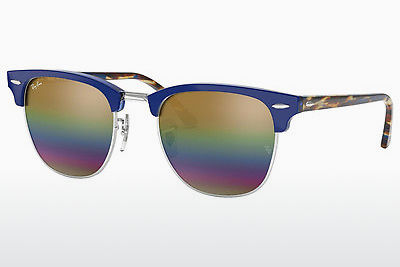 Zonnebril Ray-Ban CLUBMASTER (RB3016 1223C4) - Grijs, Bruin