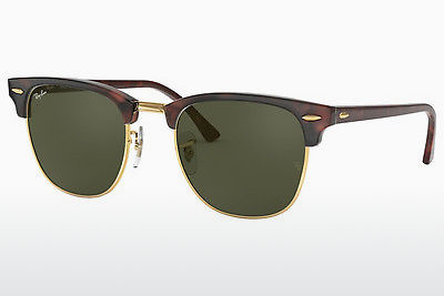 Zonnebril Ray-Ban CLUBMASTER (RB3016 W0366) - Bruin, Schildpad