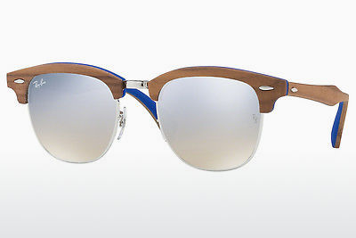 Zonnebril Ray-Ban CLUBMASTER (M) (RB3016M 12179U) - Zilver