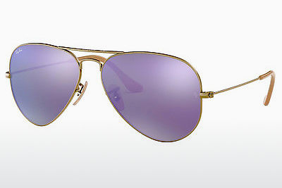 Lunettes de soleil Ray-Ban AVIATOR LARGE METAL (RB3025 167/1M) - Brunes, Bronze