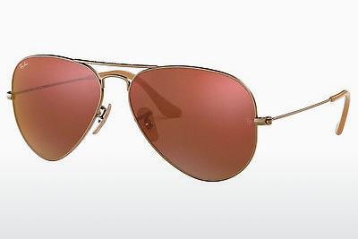 Lunettes de soleil Ray-Ban AVIATOR LARGE METAL (RB3025 167/2K) - Brunes, Bronze
