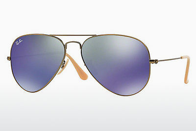 Lunettes de soleil Ray-Ban AVIATOR LARGE METAL (RB3025 167/68) - Brunes, Bronze