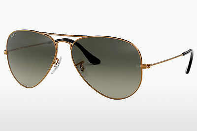 Zonnebril Ray-Ban AVIATOR LARGE METAL (RB3025 197/71) - Bruin