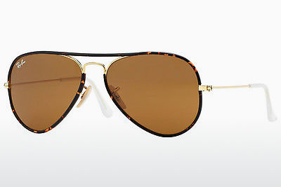 Lunettes de soleil Ray-Ban AVIATOR FULL COLOR (RB3025JM 001) - Or
