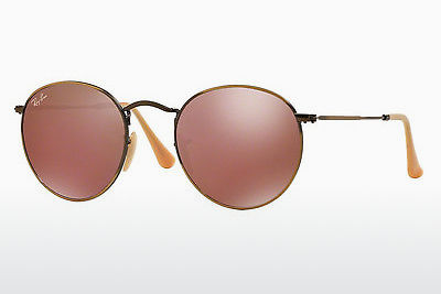Zonnebril Ray-Ban ROUND METAL (RB3447 167/2K) - Bruin, Brons