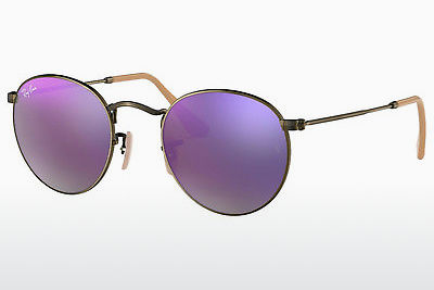 Zonnebril Ray-Ban ROUND METAL (RB3447 167/4K) - Bruin, Brons