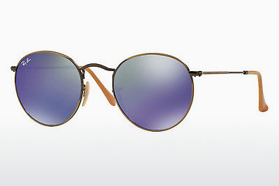 Zonnebril Ray-Ban ROUND METAL (RB3447 167/68) - Bruin, Brons