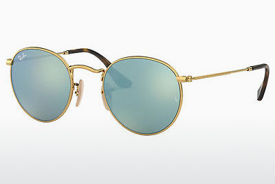 Lunettes de soleil Ray-Ban ROUND METAL (RB3447N 001/30) - Or