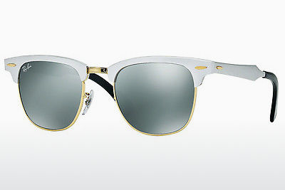 Zonnebril Ray-Ban CLUBMASTER ALUMINUM (RB3507 137/40) - Zilver