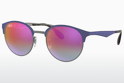 Zonnebril Ray-Ban RB3545 9005A9 - Grijs, Blauw