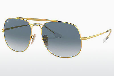 Lunettes de soleil Ray-Ban RB3561 001/3F - Or