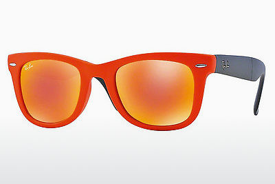 Lunettes de soleil Ray-Ban FOLDING WAYFARER (RB4105 601969) - Orange
