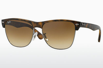 Zonnebril Ray-Ban CLUBMASTER OVERSIZED (RB4175 878/51) - Bruin, Havanna