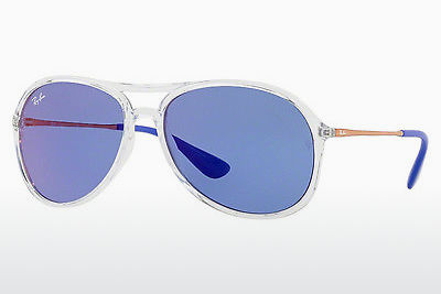 Zonnebril Ray-Ban ALEX (RB4201 6294D1) - Wit, Doorzichtig
