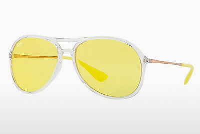 Zonnebril Ray-Ban ALEX (RB4201 6295C9) - Wit, Doorzichtig