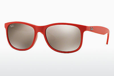 Zonnebril Ray-Ban ANDY (RB4202 61555A) - Rood