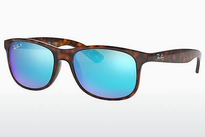 Zonnebril Ray-Ban ANDY (RB4202 710/9R) - Bruin, Havanna