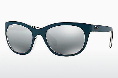 Zonnebril Ray-Ban RB4216 619188 - Blauw, Grijs