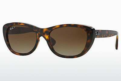 Zonnebril Ray-Ban RB4227 710/T5 - Bruin, Havanna