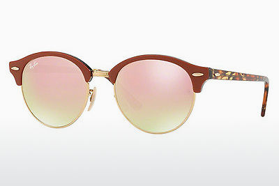 Lunettes de soleil Ray-Ban CLUBROUND (RB4246 12207O) - Or