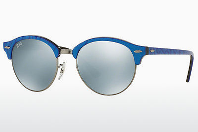 Zonnebril Ray-Ban Clubround (RB4246 984/30) - Blauw