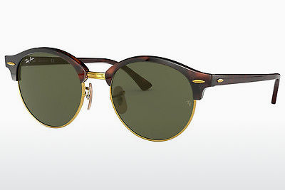 Zonnebril Ray-Ban Clubround (RB4246 990) - Bruin, Havanna