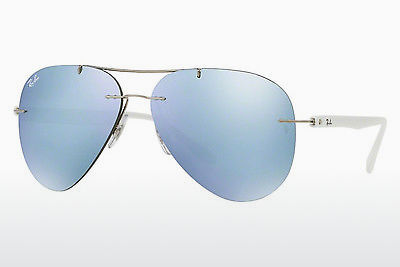 Zonnebril Ray-Ban RB8058 003/30 - Zilver