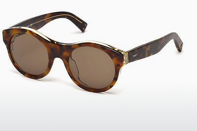 Lunettes de soleil Tod's TO0196 53E - Havanna, Yellow, Blond, Brown