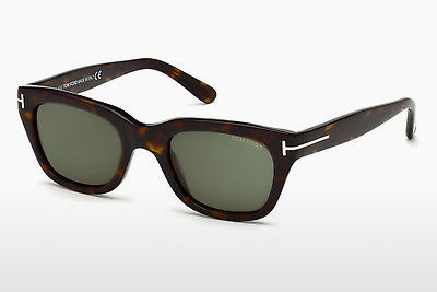 Lunettes de soleil Tom Ford Snowdon (FT0237 52N) - Brunes, Havanna