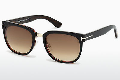 Zonnebril Tom Ford Rock (FT0290 01F) - Zwart, Shiny