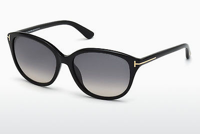 Zonnebril Tom Ford Karmen (FT0329 01B) - Zwart, Shiny