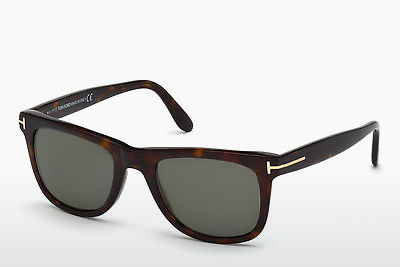 Lunettes de soleil Tom Ford Leo (FT0336 56R) - Brunes, Havanna