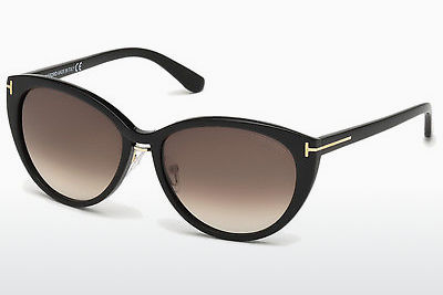 Zonnebril Tom Ford Gina (FT0345 01B) - Zwart, Shiny