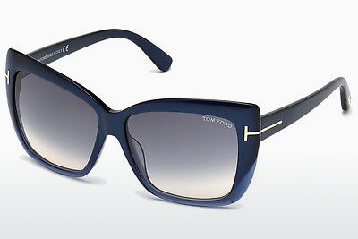 Lunettes de soleil Tom Ford Irina (FT0390 89W) - Bleues, Turquoise