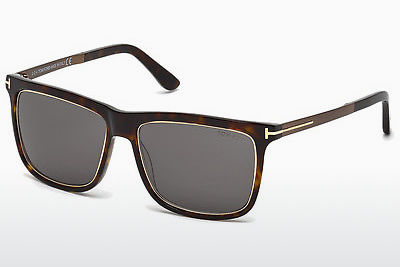 Lunettes de soleil Tom Ford Karlie (FT0392 52J) - Brunes, Dark, Havana