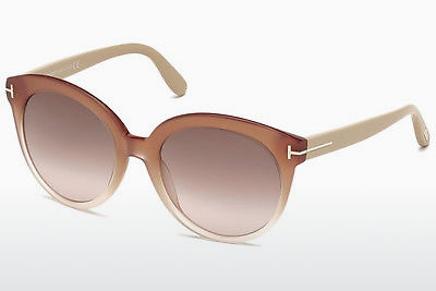 Lunettes de soleil Tom Ford Monica (FT0429 74F) - Rose, Rosa